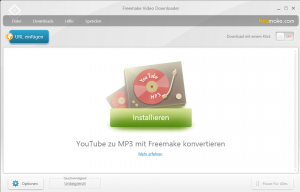 YouTube-Stream bei Freemake Video Downloader einfügen.