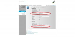 Netzwerkname (SSID) und WPA-PSK-Schlüssel individuell ändern.