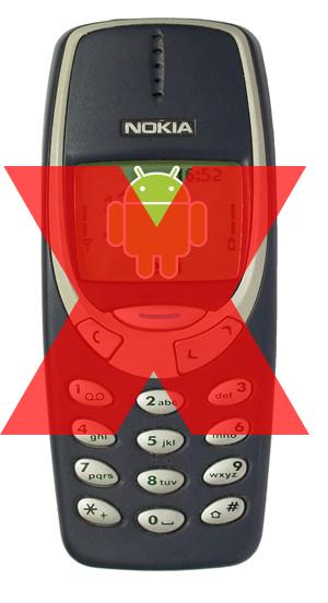 Doch keine Nokia-Smartphones mit Android.
