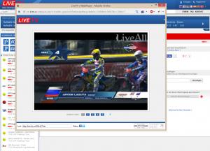 Live-Streams auf livetv.sx
