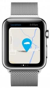 Das eigene Auto per GPS wiederfinden.