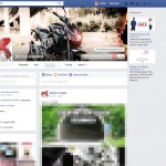 Rufe dein FB-Profil auf