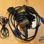 Die mitgelieferten Kabel