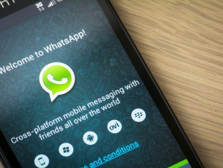 WhatsApp am Smartphone