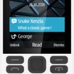 Das Nokia 150 in Weiß