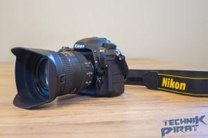 Die Nikon D500 mit Objektiv