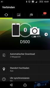 App Snapbridge (Screenshot)